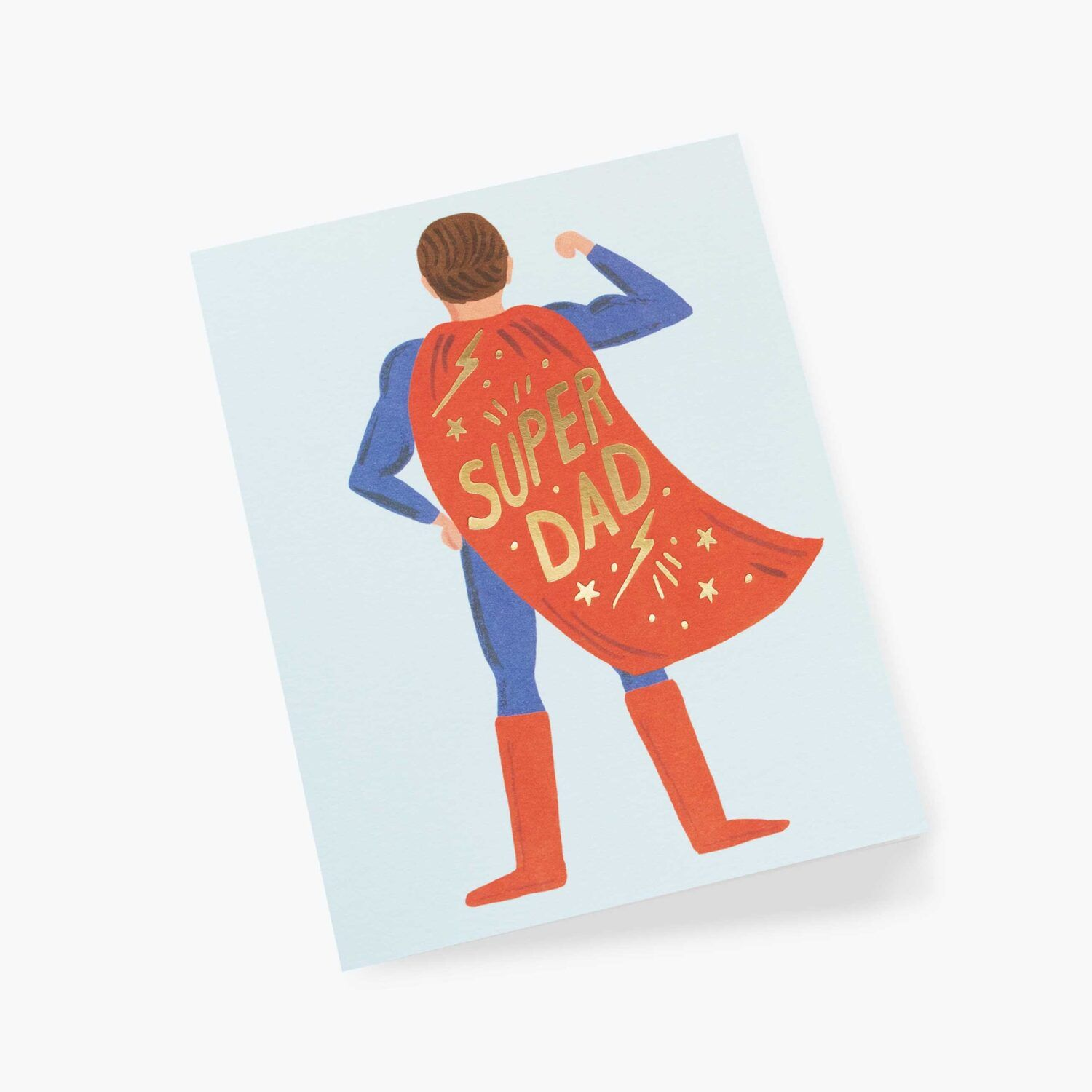 "Rifle Paper Co. ""Super Dad"" Greeting Card"