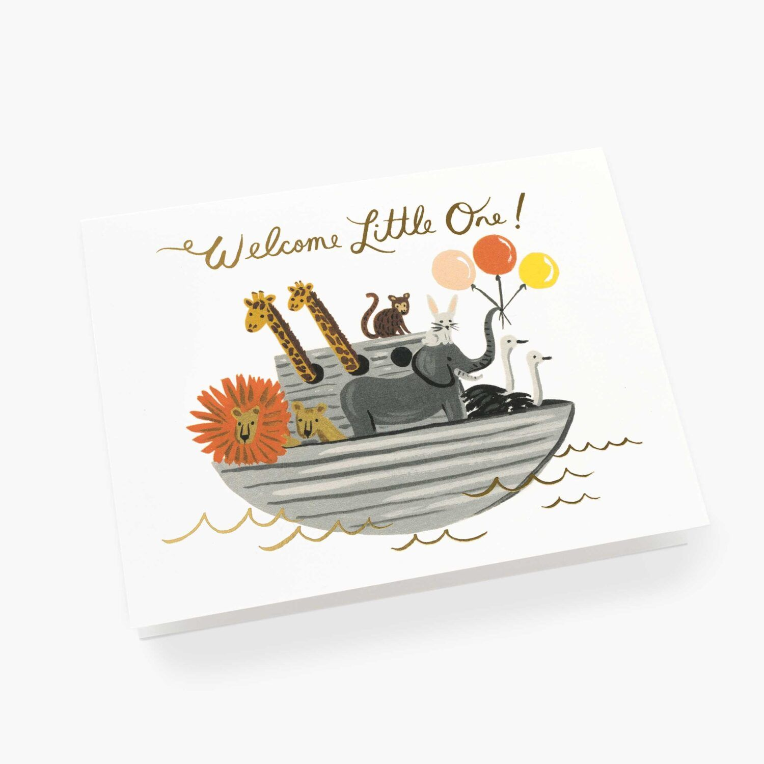 "Rifle Paper Co. ""Noah's Ark"" Greeting Card"