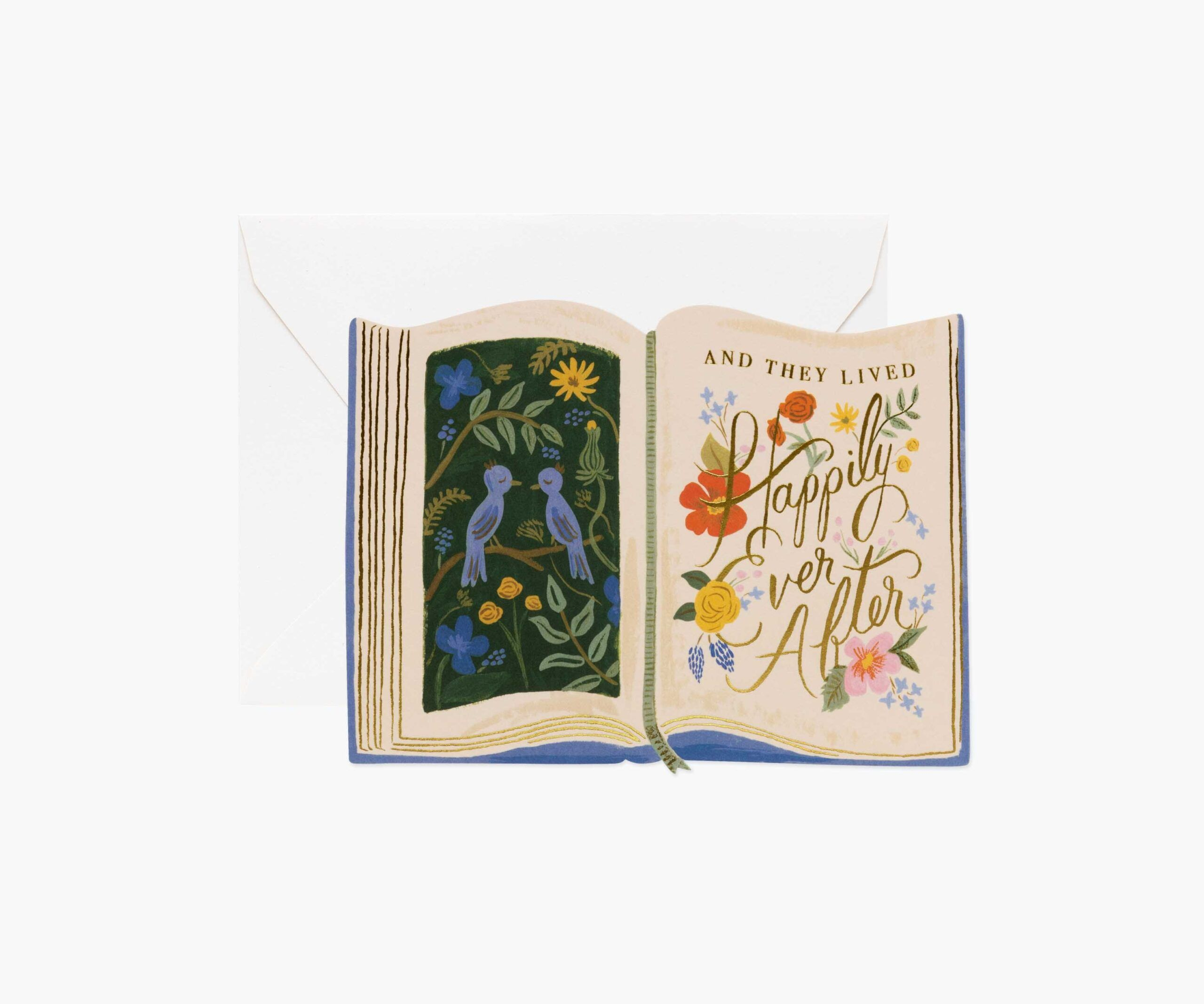"""rifle paper co """"ever after"""" greeting card  home  fleur"""
