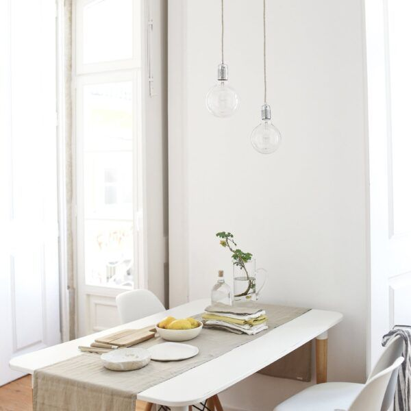 Natural Linen Table Runner
