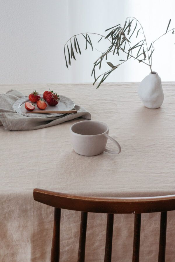 Terra Handmade Ceramic Mug - Matte Grey