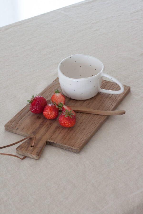 Terra Handmade Ceramic Mug - Polka Dot