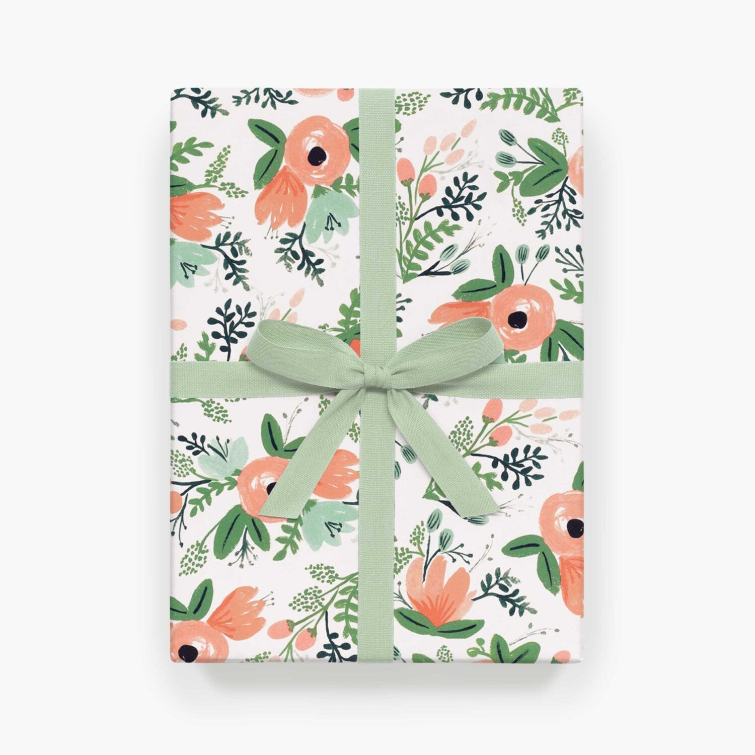 "Rifle Paper Co. ""Wildflower"" Wrapping Paper Set of 2"