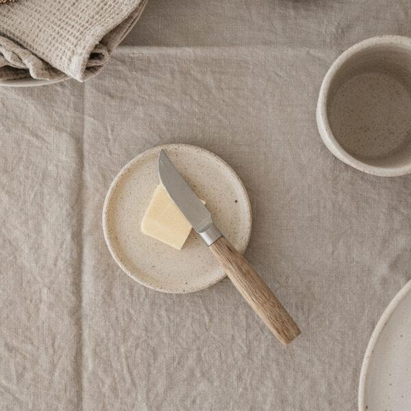Handmade Ceramic Speckled Dish