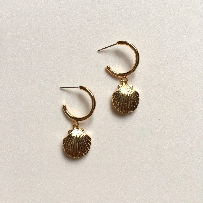 Marine Hoop Earrings