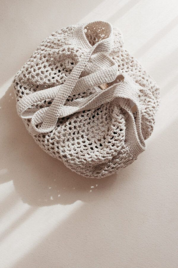 Crochet Net Bag - Cream