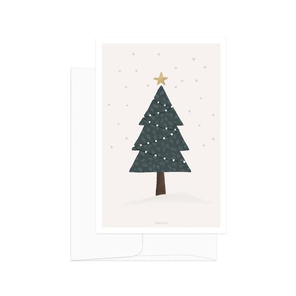 Christmas Tree Postcard