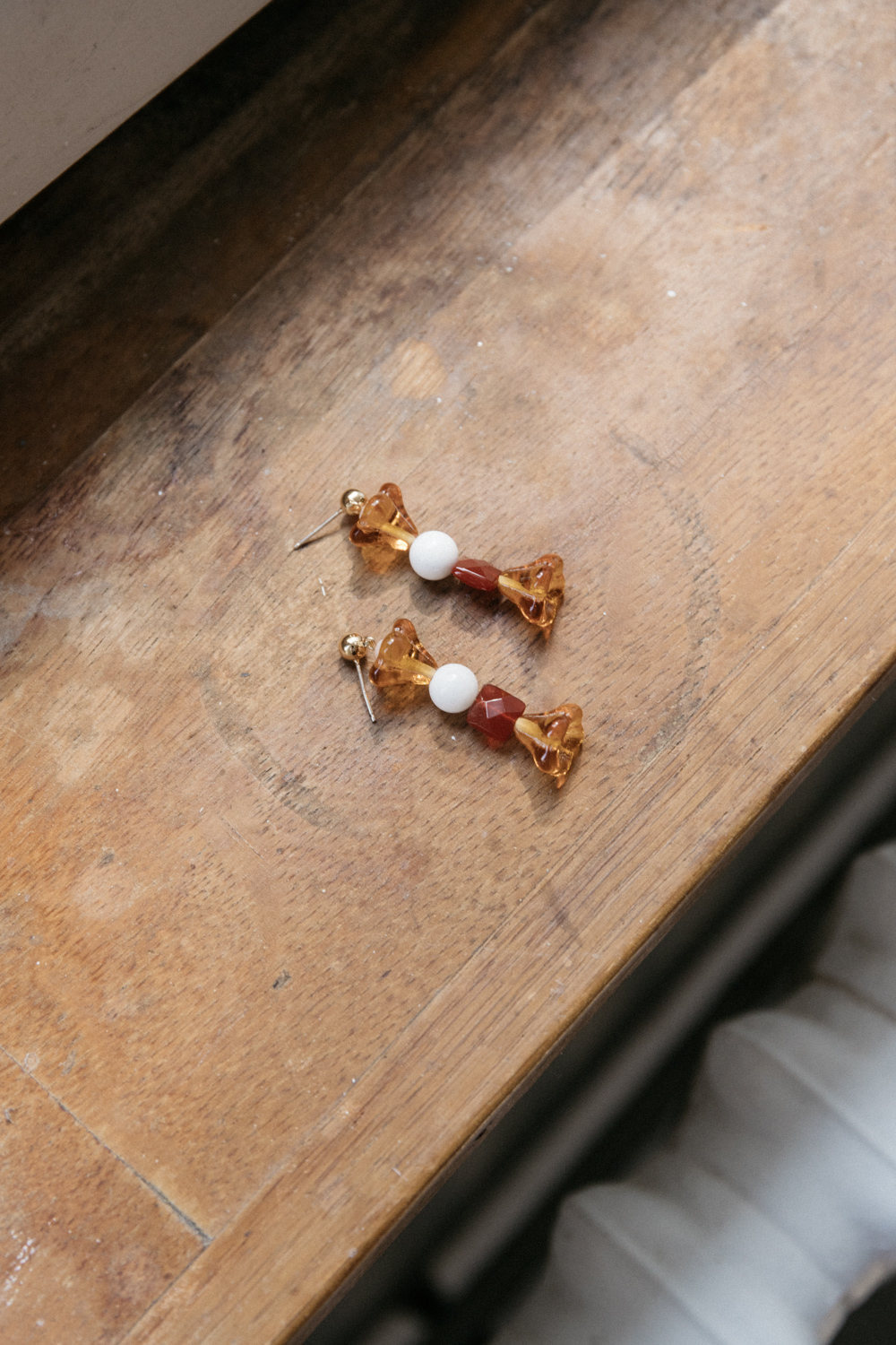 Caramel Vintage Earrings