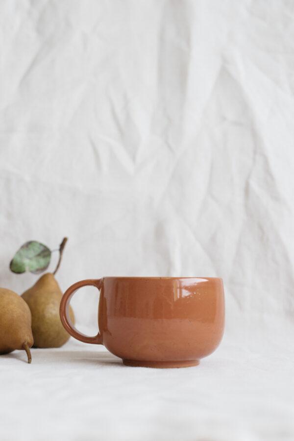 Marinski Handmade Ceramic Mug - Cinnamon