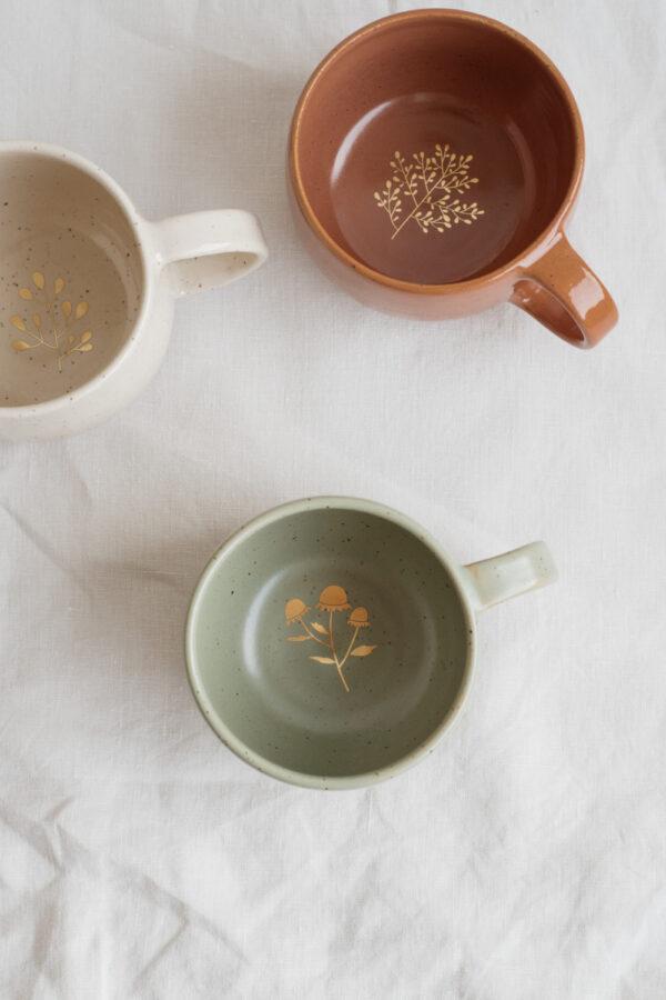 Marinski Handmade Ceramic Mug - Olive