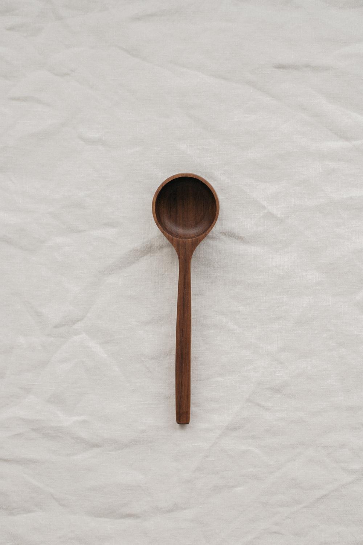 Selwyn House English Walnut Coffee Scoop