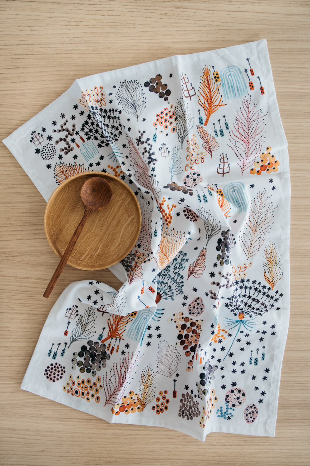"""My Fern"" Print Tea Towel"