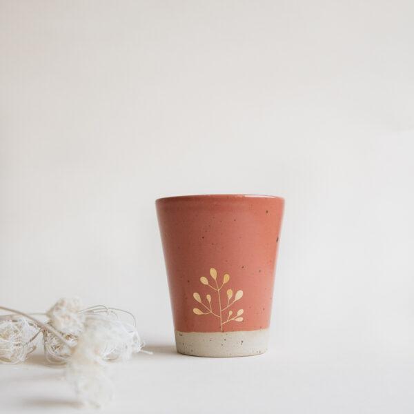 Marinski Handmade Ceramic Cup - Cinnamon