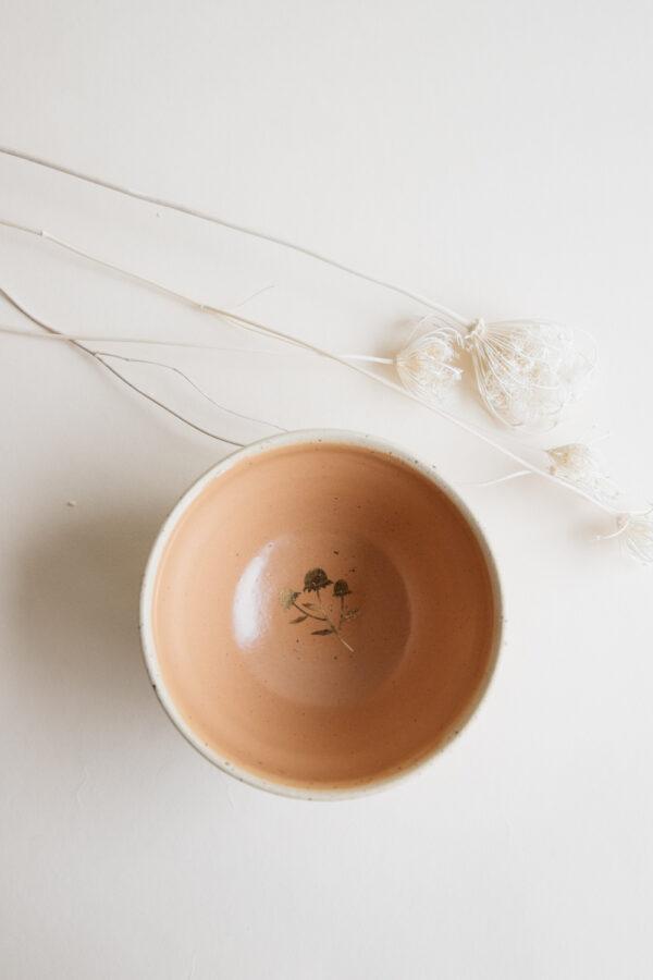 Marinski Handmade Ceramic Bowl - Yellow Gold