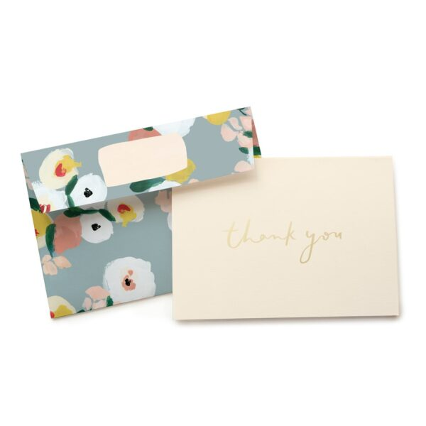 Dusk Florals Thank You Card