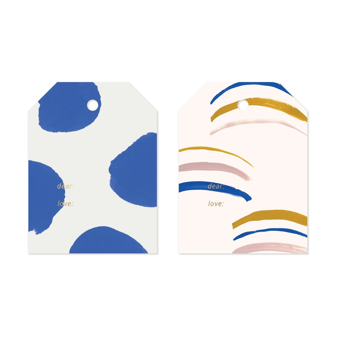 Cobalt Everyday Gift Tag Set