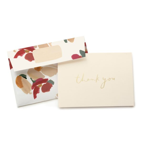 Marigold Thank You Card