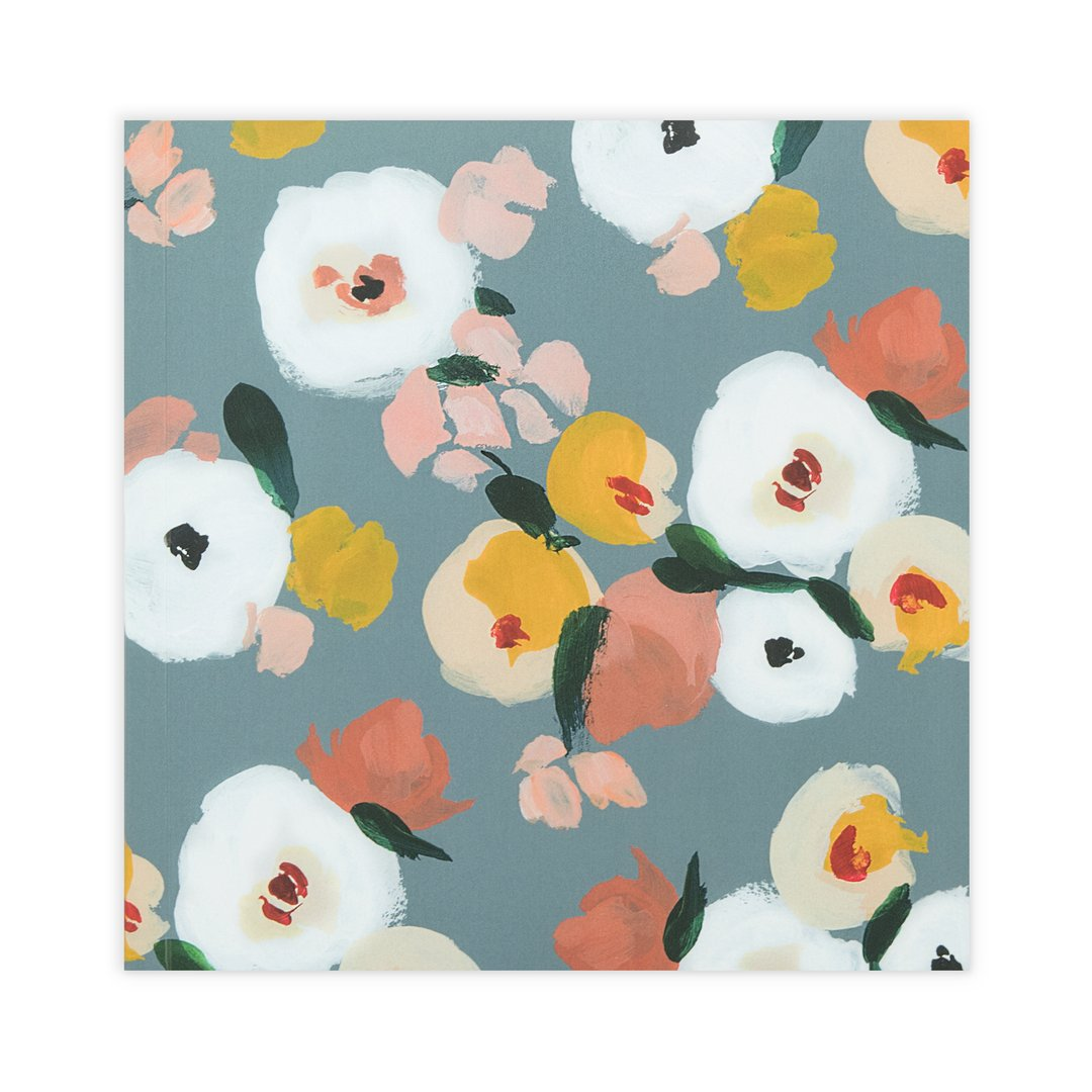 Dusk Florals Thought Jotter Notebook