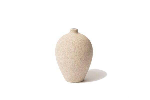 Ebba Medium Ceramic Vase - Sand
