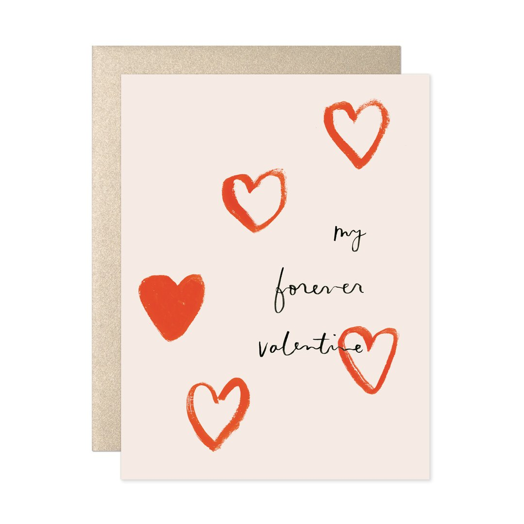 My Forever Valentine Card