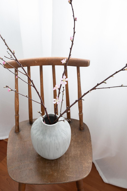 Kyoto Ceramic Vase - Striped