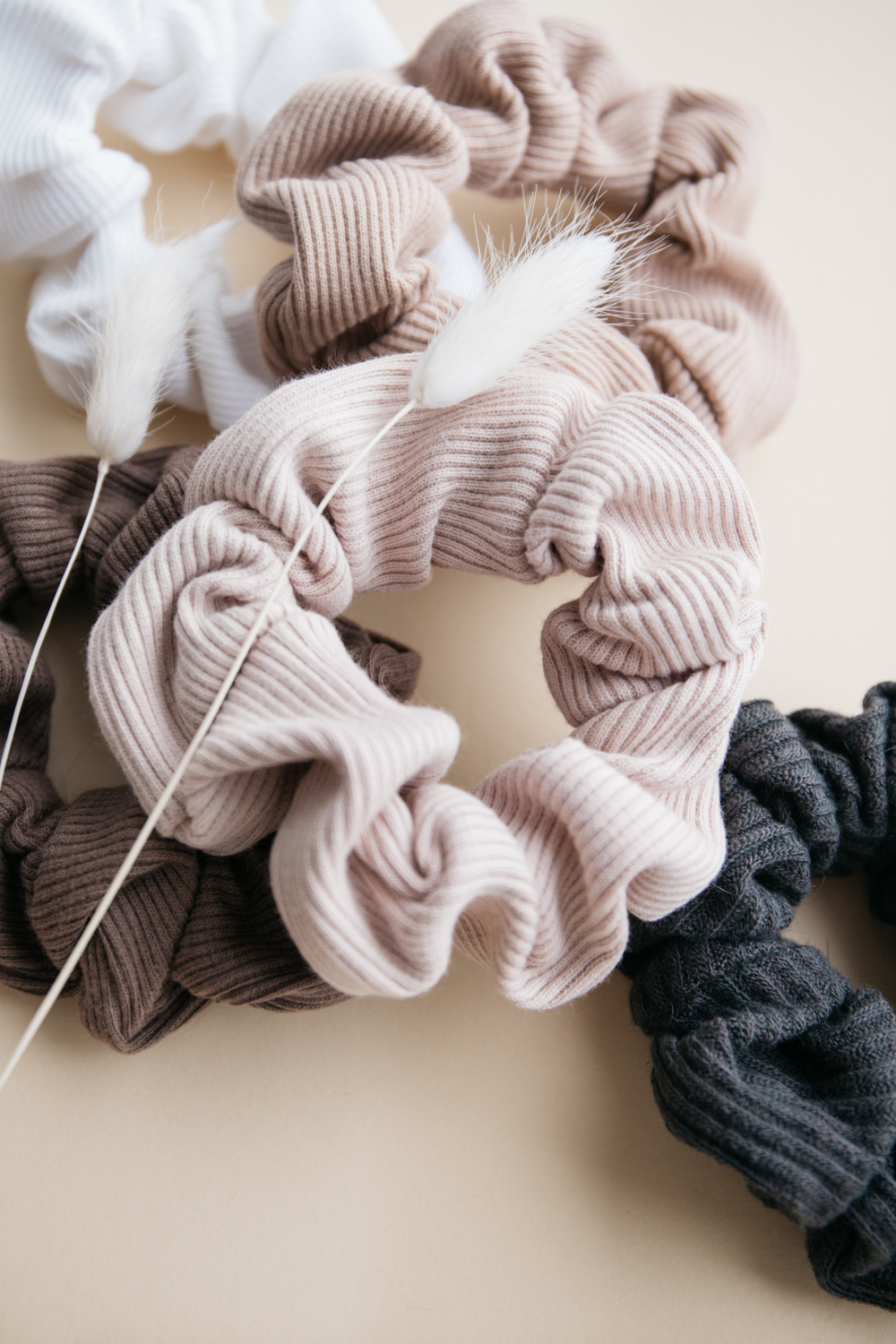 Rib Cotton Scrunchie