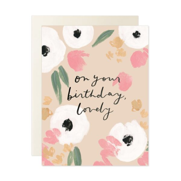 On Your Birthday Lovely Card