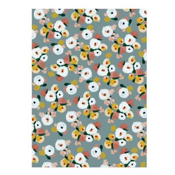 Dusk Florals Wrapping Paper Set of 2