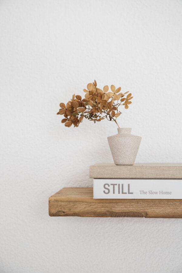 Sonja Small Ceramic Vase - Sand