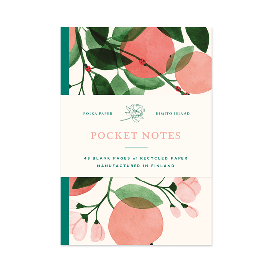 Apple Bloom Pocket Notebook