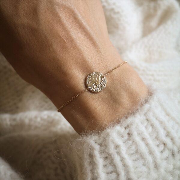 Golden Leo Bracelet