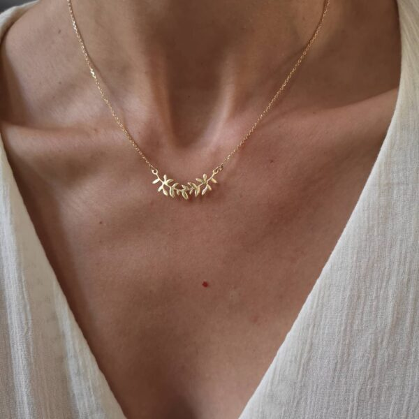 Golden Athena Necklace
