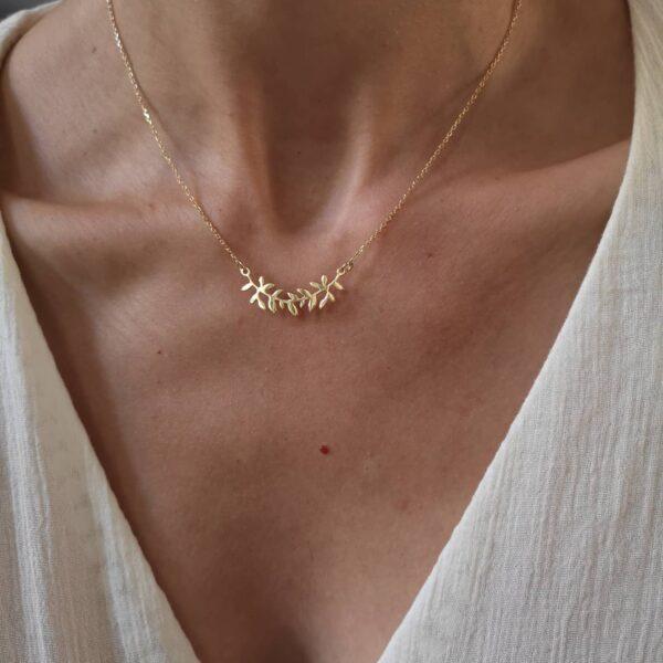 Golden Athena Necklace