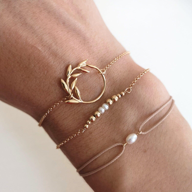 Golden Zaria Bracelet