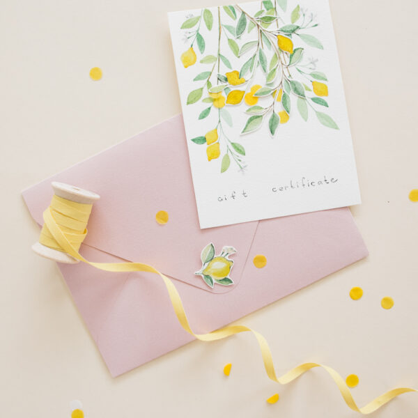 *Special* Home & Fleur Hand-painted Gift Certificate - Citrus
