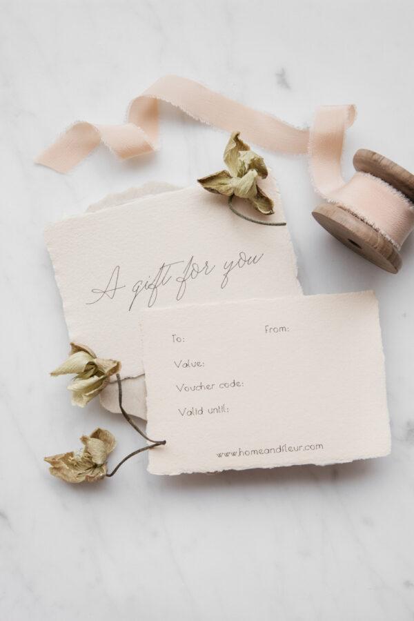 |Home & Fleur Gift Voucher