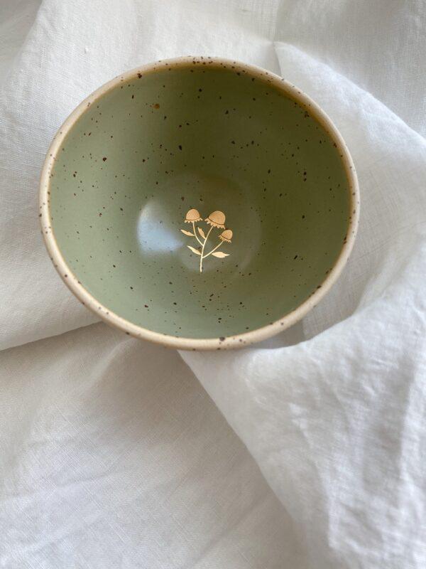 Marinski Handmade Ceramic Bowl - Olive