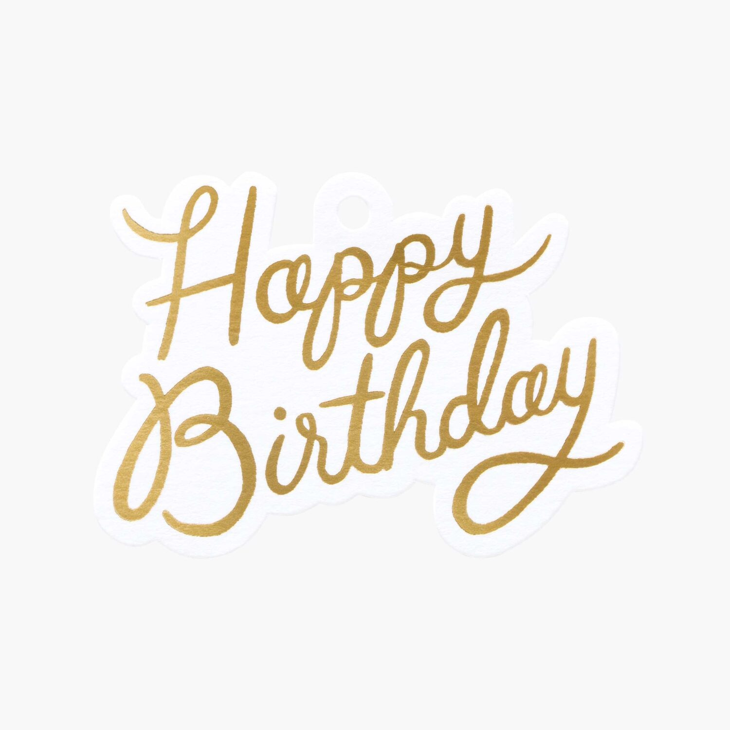 """Rifle Paper Co. """"Happy Birthday"""" Gift Tag Set"""