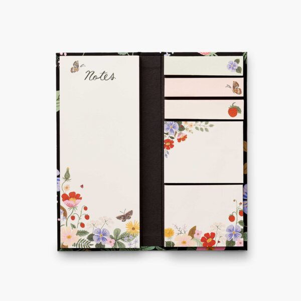 "Rifle Paper Co. ""Strawbery Fields"" Sticky Note Folio"