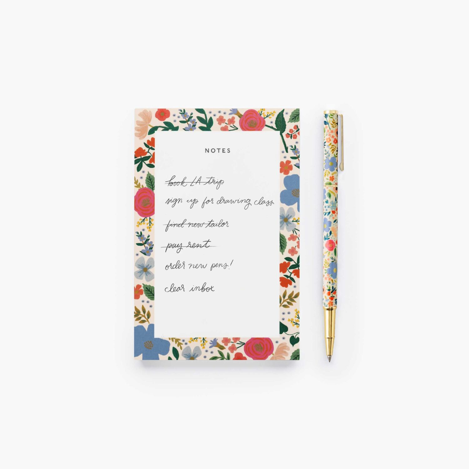 "Rifle Paper Co. ""Wild Rose"" Writing Pen"