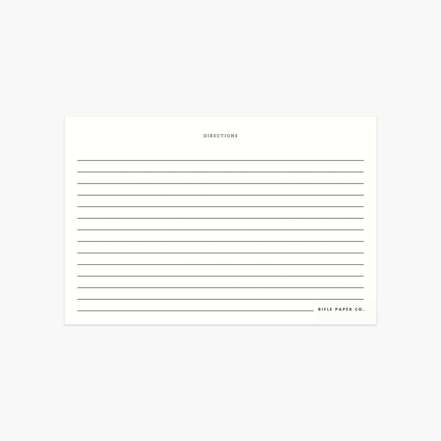 "Rifle Paper Co. ""Spoon"" Recipe Card Set of 12"
