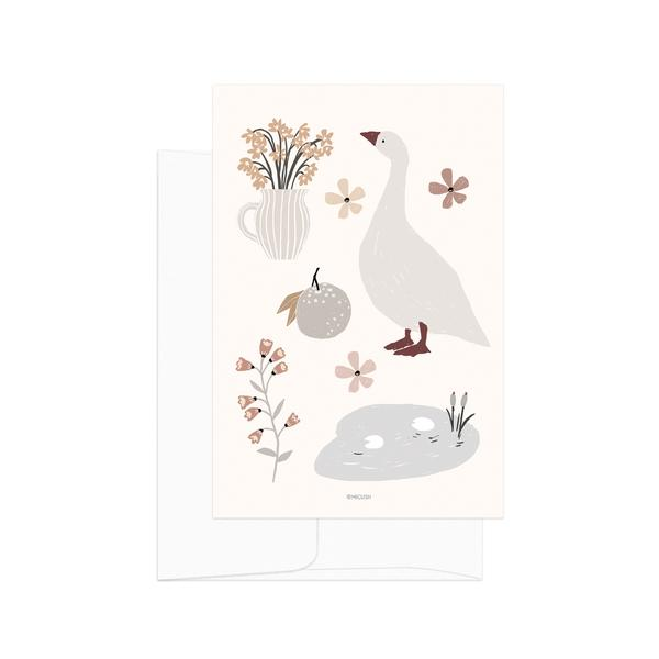 Country Life Spring Card