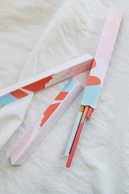 Common Modern Pencil Box Set of 6