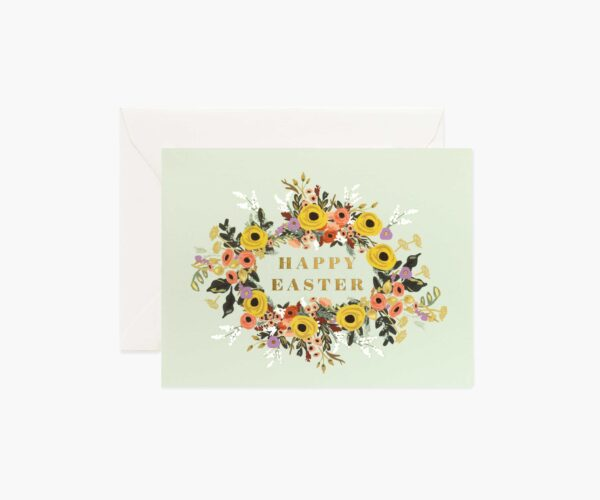 """Rifle Paper Co. """"Easter Garden"""" Greeting Card"""