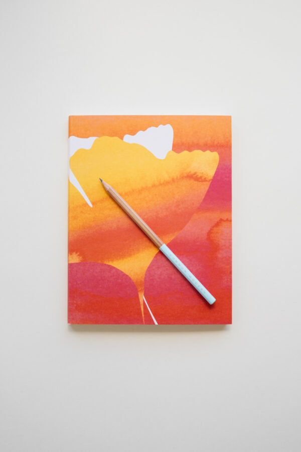 "Common Modern ""Ginkgo Soleil"" Artist Sketchbook - Sunrise"