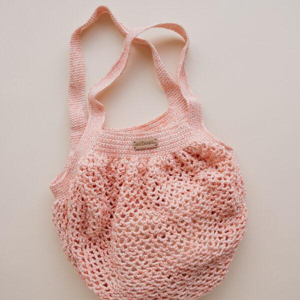 Crochet Net Bag - Pink