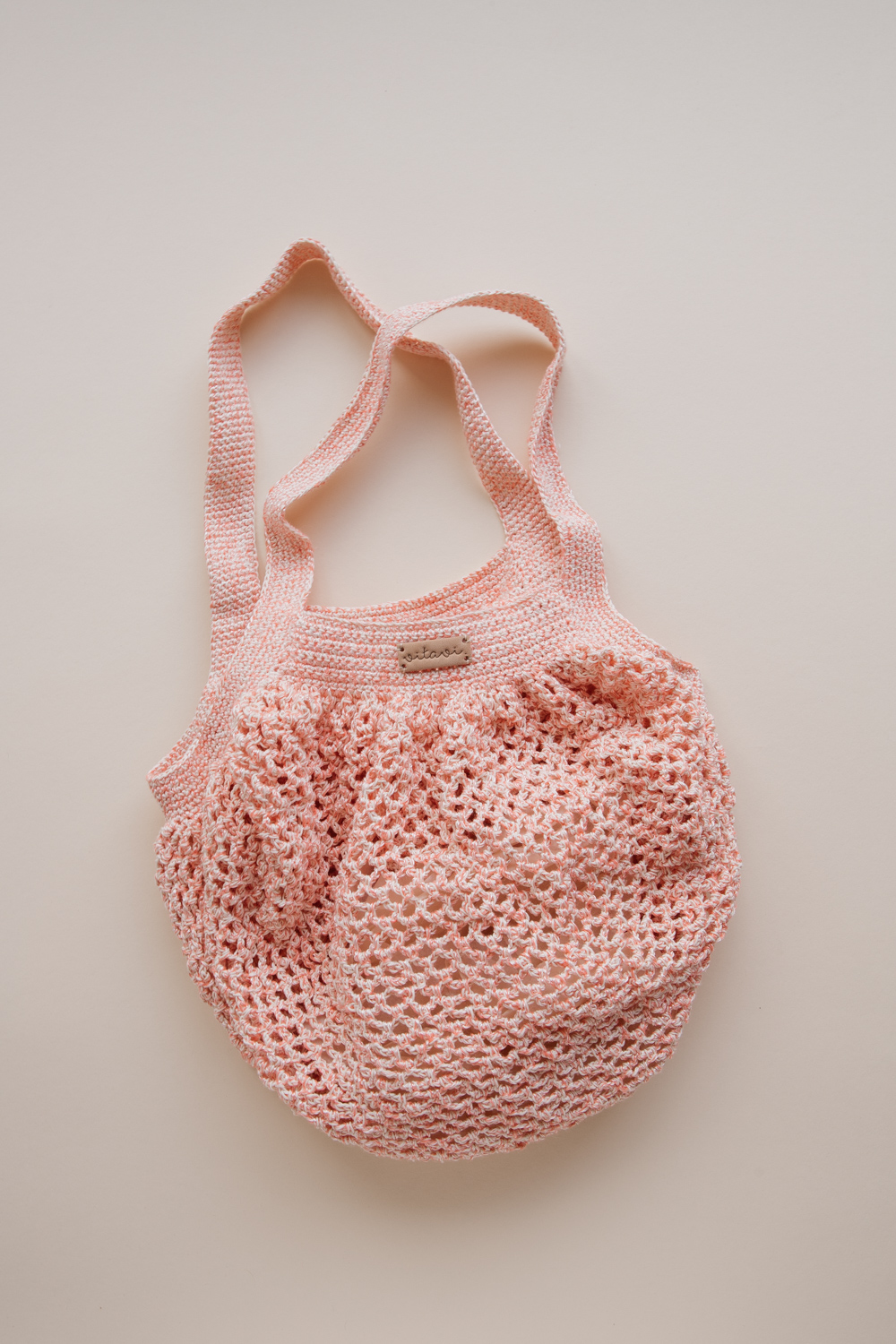 Crochet Net Bag - Pink