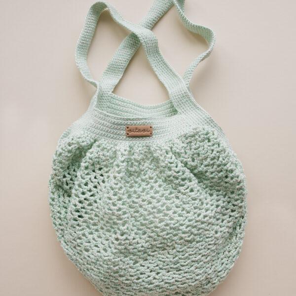 Crochet Net Bag - Mint