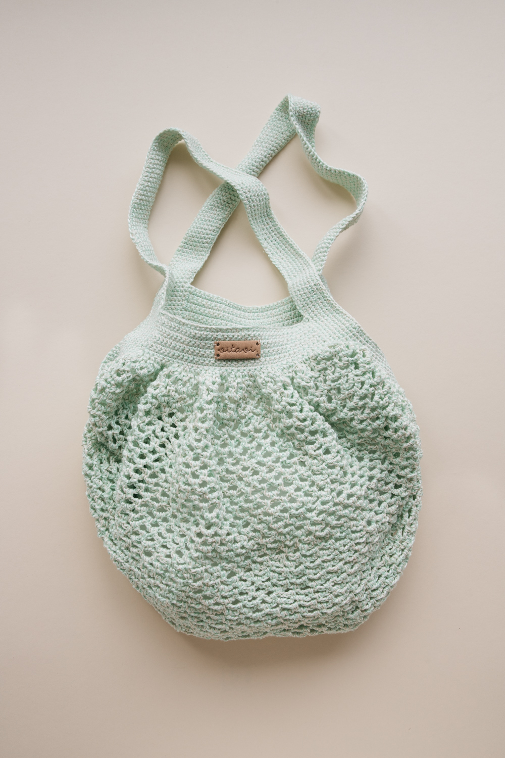 Crochet Net Bag - Mint