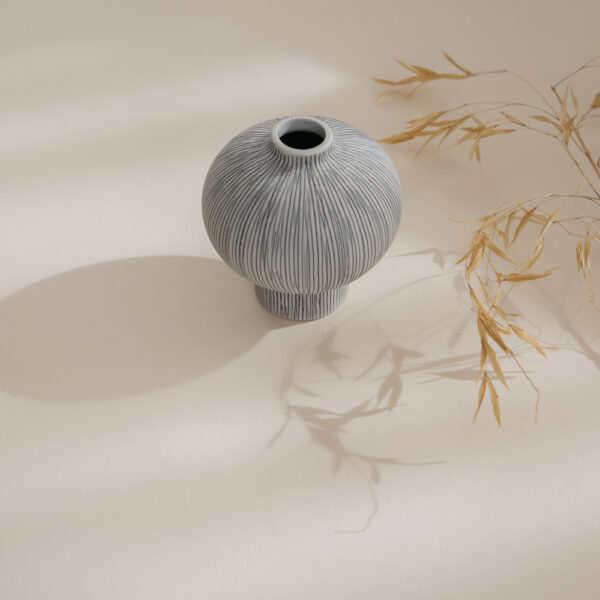 Cecilia Ceramic Vase - Striped